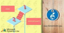 تفاوت سرنخ،فرصت در نرم افزارمایکروسافت CRM