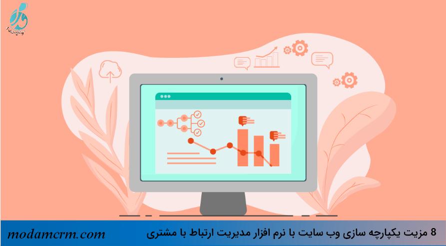 یکپارچه سازی وب سایت و نرم افزار سی آر ام