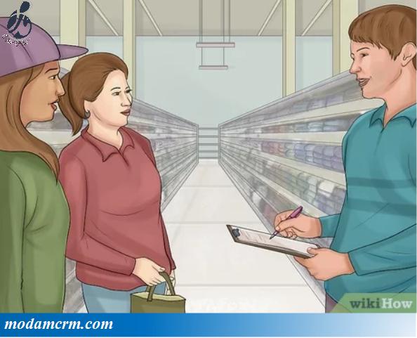 برای ارتباط با مشتریان خود، اطلاعات را بصورت حضوری از آنها بخواهید.