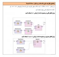 راهنمای یکپارچه سازی داده ها در نرم افزار rapidminer