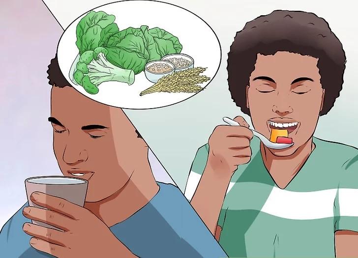 رژیم غذایی سالم داشته باشید.