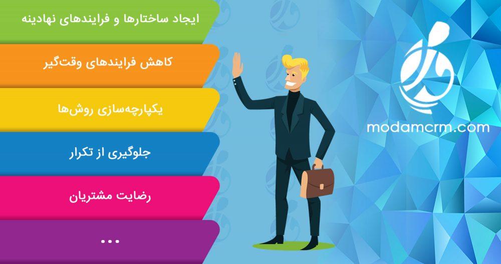 لزوم مدیریت ارتباط با مشتری